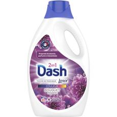 DASH Lessive liquide couleur bouquet mystère  52 lavages 2.6l