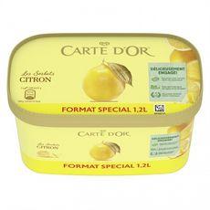 CARTE D'OR Les Sorbets citron 780g