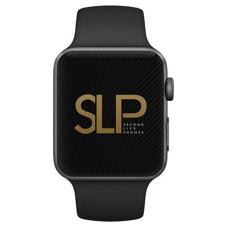 APPLE Apple - Montre connectée Watch 2 42 mm - Noir - Reconditionnée - Grade A - SLP