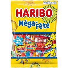 HARIBO Assortiment de bonbons mini sachet 26 sachets 1kg
