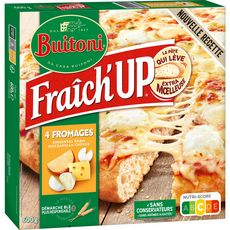 BUITONI Pizza fraîch'up 4 fromages 600g