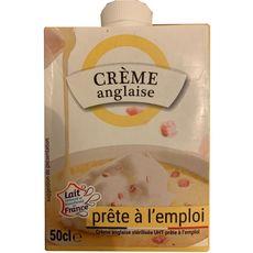 Crème anglaise prête à l'emploi 50cl