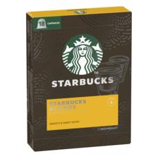 STARBUCKS Capsules de café blonde espresso intensité 6 compatibles Nespresso 18 capsules 94g