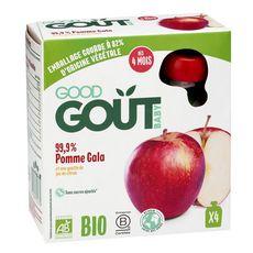 Good Goût GOOD GOUT Gourde dessert pomme Gala bio dès 4 mois