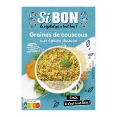 SI BON Graines de couscous aux épices douces 400g