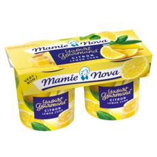 MAMIE NOVA Yaourt brassé au citron 2x150g