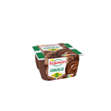 SOJASUN Dessert végétal au chocolat 4x100g