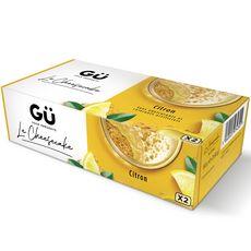 GU Cheesecake au citron 2x90g