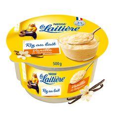 LA LAITIERE Riz au lait à la vanille 500g