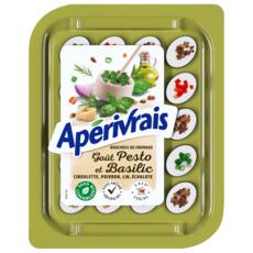 APERIVRAIS Bouchées de fromage goût olive thym poivron échalote oignon 100g