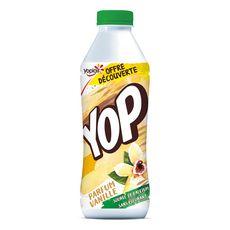 YOP Yaourt à boire à la vanille 850g
