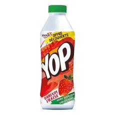 YOP Yaourt à boire à la fraise 850g