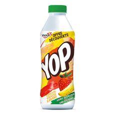 YOP Yaourt à boire fraise banane 850g