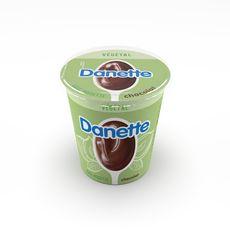 DANETTE Crème dessert végétale chocolat base noisette 400g