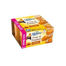 LA LAITIERE Dessert fondant au caramel beurre salé 4x115g