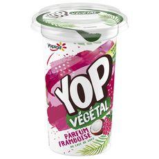YOP Dessert végétal au lait de coco parfum framboise 200g