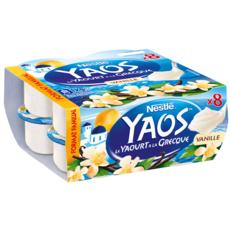 YAOS Le Yaourt à la Grecque vanille 8x125g
