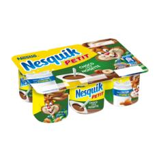 NESQUIK Crème dessert au chocolat noisette 6x60g