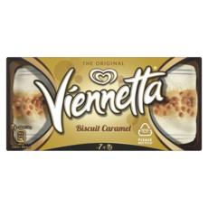 VIENNETTA Dessert glacé biscuit caramel 7 parts 350g