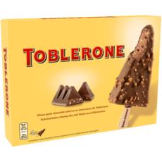 TOBLERONE Bâtonnet glacé chocolat miel et toblerone 4 pièces 264g