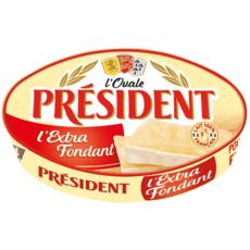 PRESIDENT l'Ovale fromage extra fondant 200g