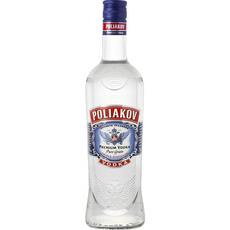 POLIAKOV Vodka pure grain 37,5% 70cl