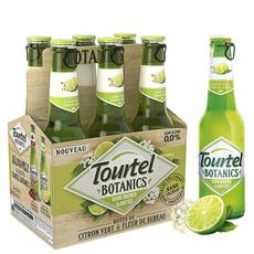 TOURTEL Bière Botanic sans alcool 0,0% aromatisée citron sureau bouteilles 6x27,5cl