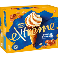 Nestlé EXTREME Sundae caramel fondant