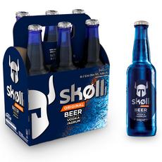SKOLL Bière aromatisée vodka et agrumes 6% bouteilles 6x33cl