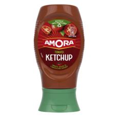 AMORA Tomato ketchup sans conservateur en squeeze top down 280g