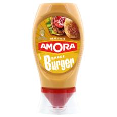 AMORA Sauce burger en squeeze top down 260g