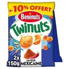 BENENUTS Twinuts à la mexicaine 2x150g +10% offert