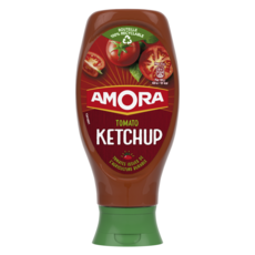 AMORA Tomato ketchup sans conservateur en squeeze top down 550g