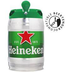 HEINEKEN Bière blonde 5% fût pression 5l