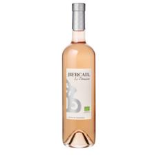 AOP Côte-de-Provence cuvée Mademoiselle Domaine Bercail rosé bio 75cl