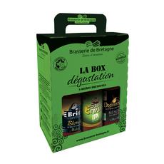 BRITT Coffret bières d'excellence bouteilles 6x33cl