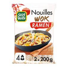 SUZI WAN Nouilles wok ramen 4 personnes 2x200g