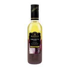MAILLE Vinaigrette légère au vinaigre de vin rouge échalote pointe d'oignon rouge 36cl