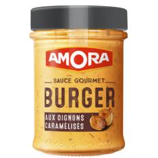 Amora AMORA Sauce gourmet burger aux oignons caramélisés