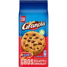 GRANOLA Cookies au daim aux gros éclats de chocolat 184g