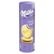 MILKA Choco pause, biscuits fourrés au chocolat 260g