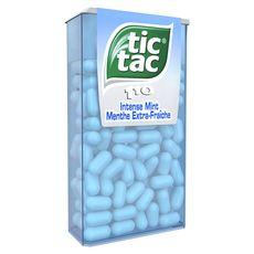 TIC TAC Bonbons à la menthe extra-fraîche 110 pièces 54g