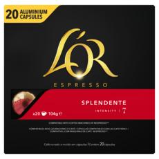 L'OR Capsules de café splendente compatibles Nespresso 20 capsules 104g