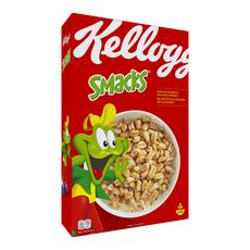 SMACKS Céréales grains de blé soufflés caramélisés 400g