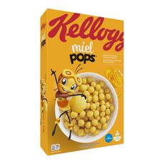 KELLOGG'S Miel Pops Céréales au miel 400g