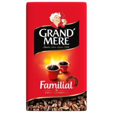 GRAND'MERE Familial Café en grains 1kg