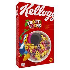 KELLOGG'S Unicorn froot loops Céréales aux fruits 375g