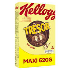 KELLOGG'S Trésor Céréales duo choco 620g