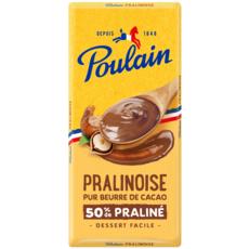 POULAIN Tablette de chocolat pâtissier pralinoise 180g