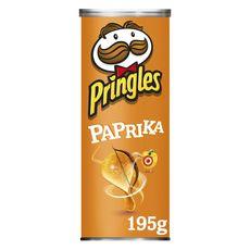 PRINGLES Tuiles goût paprika 195g